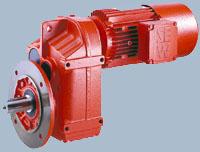Плоский цилиндрический мотор-редуктор