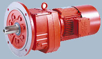 Соосный цилиндрический мотор-редуктор