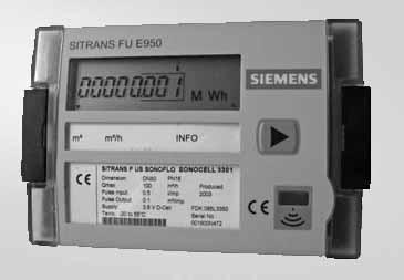 Расходомер SITRANS FUE950 счётчик энергии